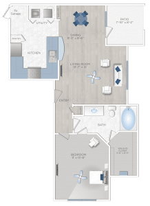 edroom Apartment in Katy