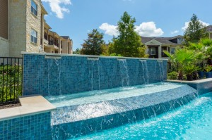 Apartments for Rent in Katy, TX - Pool Waterfall